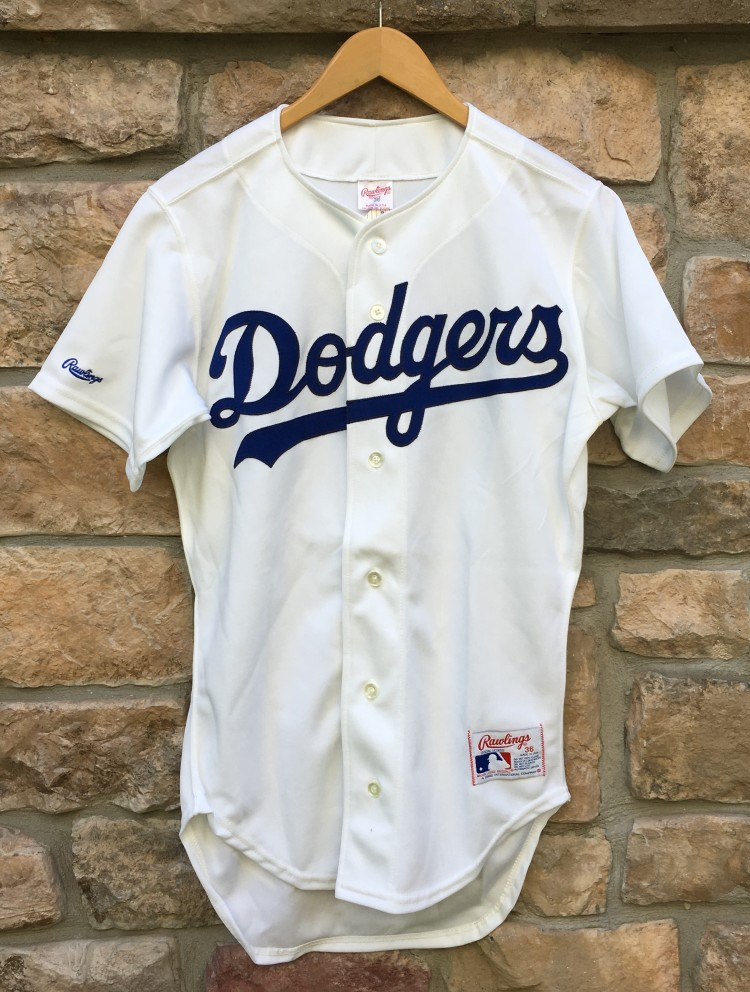 44b311e2852 90 s Los Angeles Dodgers Authentic Rawlings Diamond Collection MLB Jersey  size 36 small deadstock