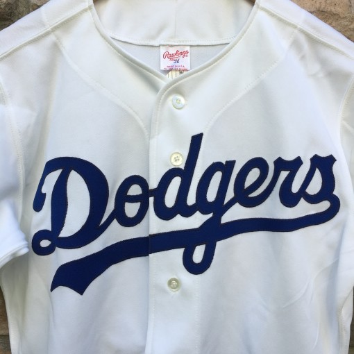90's Los Angeles Dodgers Authentic Rawlings Diamond Collection MLB Jersey size 36 small deadstock