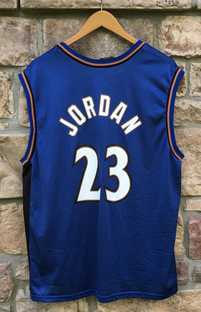 07c932668450 2001 Michael Jordan Washington Wizards Champion NBA jersey size 40 Medium