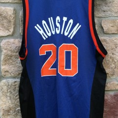 90's Allan Houston New York Knicks Champion NBA jersey size 44 large