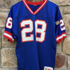 1995 Tyrone Wheatley New York Giants Wilson NFL Jerseys Youth XL