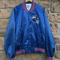 90s New York Giants Chalkline Satin NFL jacket size XXL
