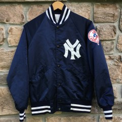 80s New York Yankees Starter Satin MLB jacket size small