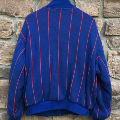 90's New York Giants Cliff Engle Pro Line Authentic zip up wool sweater size Large