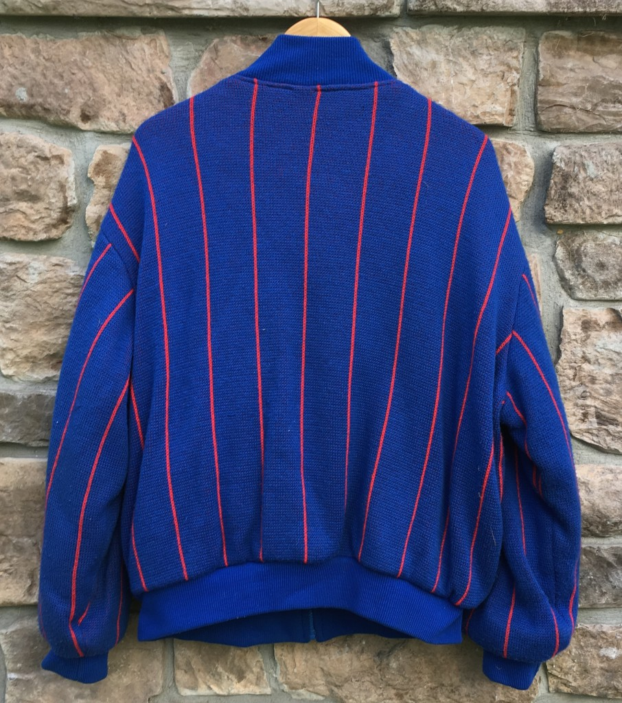 hot sale online 8c0d0 6b1f3 90's New York Giants Cliff Engle NFL Sweater Jacket Size Large