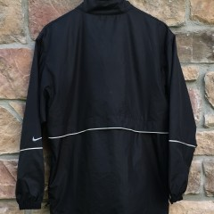 90's Nike Black Silver 3m windbreaker size medium supreme nyc