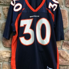 1998 Denver Broncos Terrell Davis Champion NFL jersey size 48