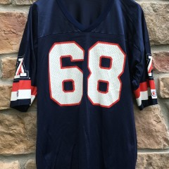 90's Tedy Bruschi University of Arizona Wildcats NCAA Champion jersey size 52