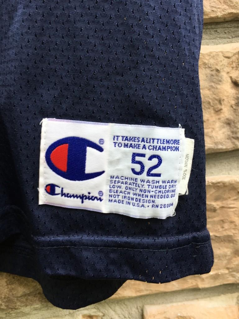outlet store 68f95 cc160 1995 Tedy Bruschi Arizona Wildcats Champion NCAA Jersey Size 52