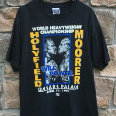 1994 Holyfield Moorer Caesars palace boxing world heavyweight championship shirt size xl