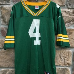 90's Brett Favre Green Bay Packers NIKE NFL jersey size medium