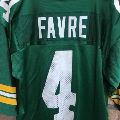 90's Brett Favre Green Bay Packers NIKE NFL jersey size medium