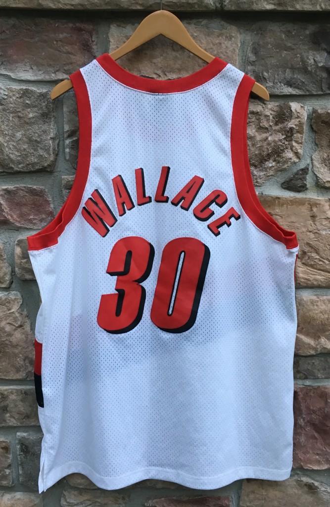 2001 Rasheed Wallace Portland Trail Blazers Nike Swingman NBA Jersey Size 2XL | Rare Vntg