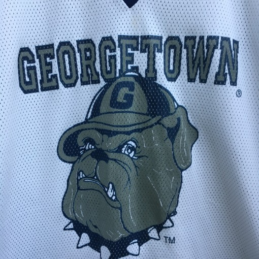 90's Georgetown Hoyas NCAA hockey jersey size large