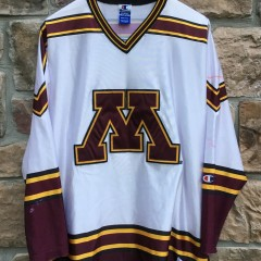 90's University of Minnesota Golden Gophers Champion NCAA hockey jersey size 48