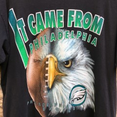 90's Philadelphia Eagles Starter it came from philadelphia NFL t shirt vintage size large