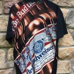 vintage 1993 Budweiser Double sided wild oats t shirt size xl