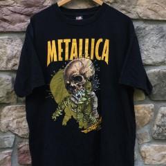 Vintage 1997 Metallica Fixxxer Pushed t shirt Giant size XL Original