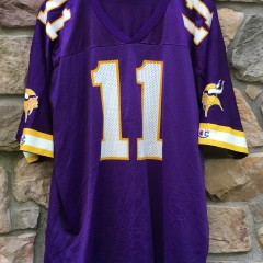 2000 Dante Culpepper Minnesota Vikings Champion NFL jersey size 40 medium