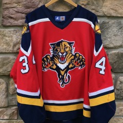 90's John Vanbiesbrouck Florida Panthers Starter NHL jersey size XL