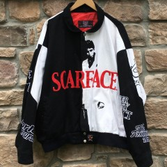 vintage Jeff Hamilton Designs Scarface varsity jacket size XL
