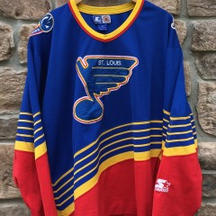 90's St. Louis Blues Starter vintage NHL hockey jersey size XL