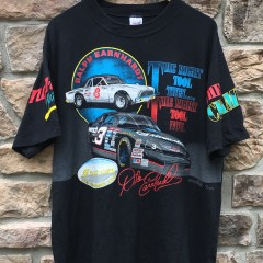 90's Dale Earnhardt Sr Ralph Earnhardt NASCAR racing shirt Snap On size XL vintage