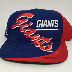 90's New York Giants vintage NFL script snapback hat