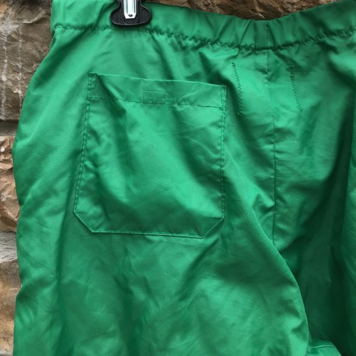 80's Philadelphia Eagles Delong NFL warm up pants kelly green size large vintage