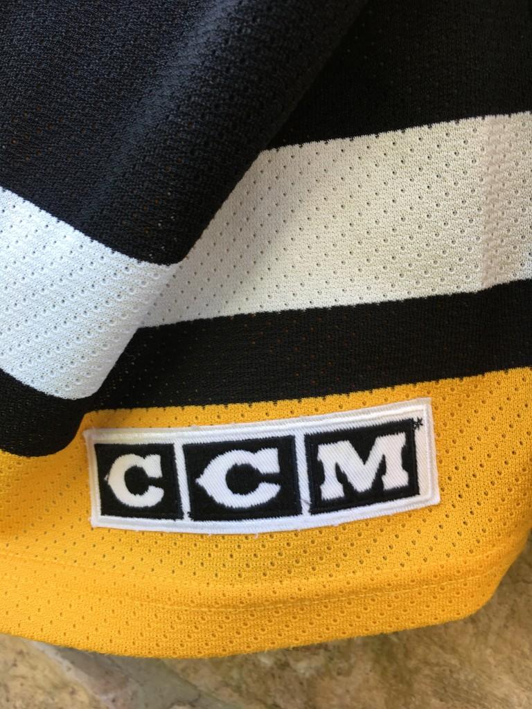 8806a7e3d vintage 1995-96 90 s Pittsburgh Penguins Jaromir Jagr CCM NHL Jersey size  XXL