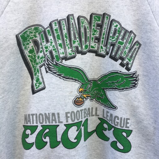 90's Philadelphia Eagles Kelly Green vintage Crewneck sweatshirt size XL