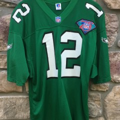 vintage authentic 1994 Randall Cunningham Russell NFL football jersey size 44 large 75th anniversary