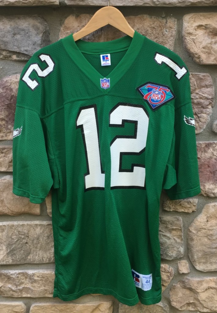 587b4ff55cf vintage authentic 1994 Randall Cunningham Russell NFL football jersey size  44 large 75th anniversary