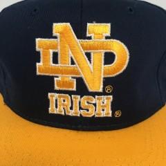 deadstock original 90's Notre Dame Fighting Irish Sports Specialties  NCAA snapback hat