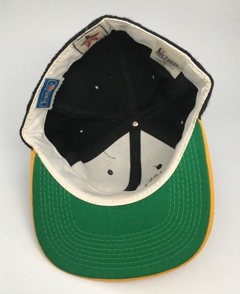 90 s New Orleans Saints Sports Specialties NFL Script Fitted hat size 7  vintage OG 5d36e2b4360d