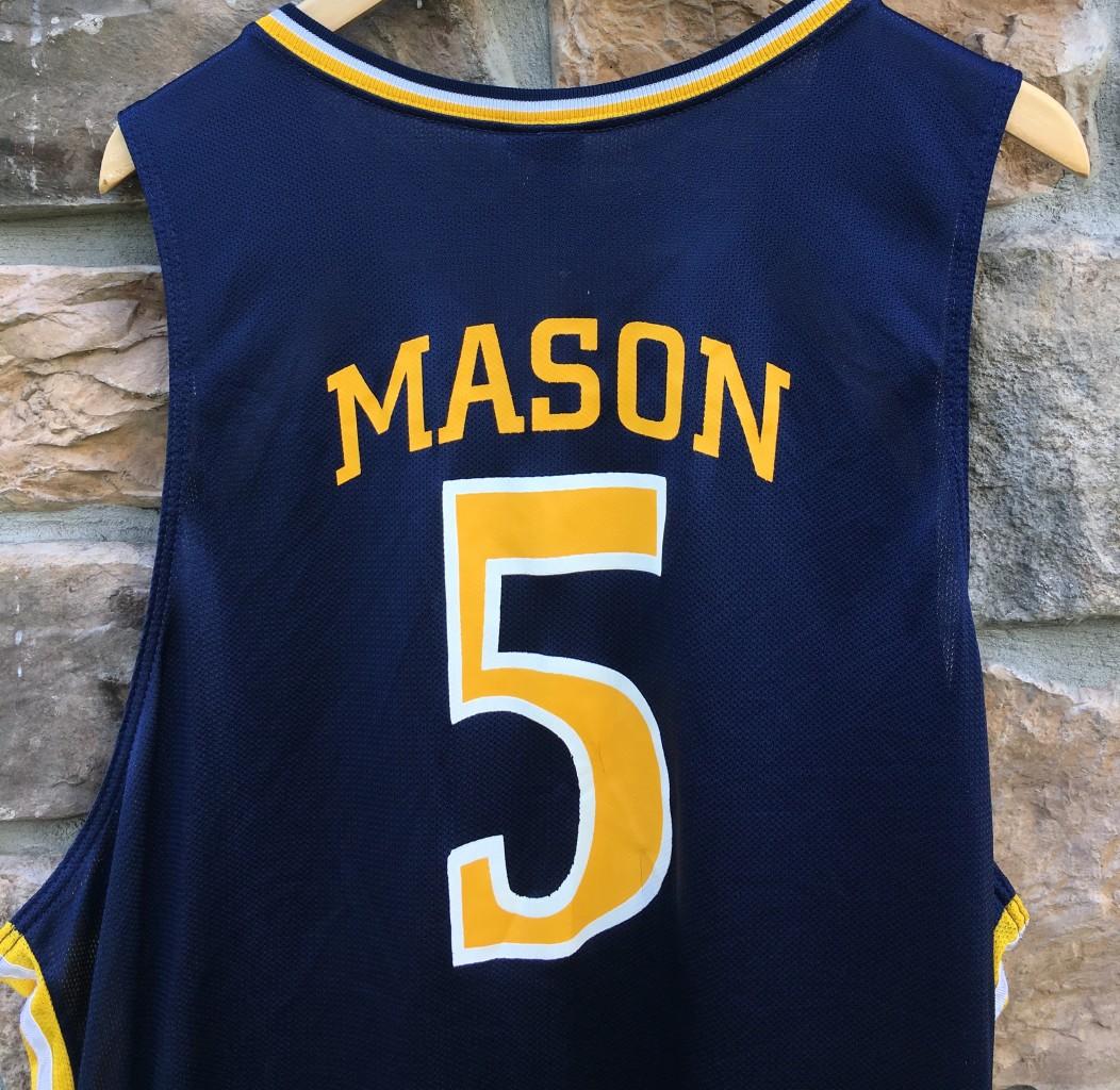 timeless design f3ee6 19f9a 2006 Bashir Mason Drexel Dragons Game Worn Nike NCAA Basketball Jersey Size  2XL