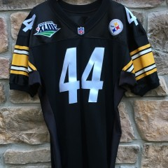 2009 Pittsburgh Steelers Barack Obama Super Bowl XLIII Champion jersey size 46 custom