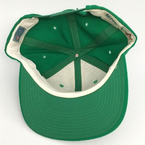 80's Philadelphia Eagles Sports Specialties Single Line Script Snapback Kelly green nfl