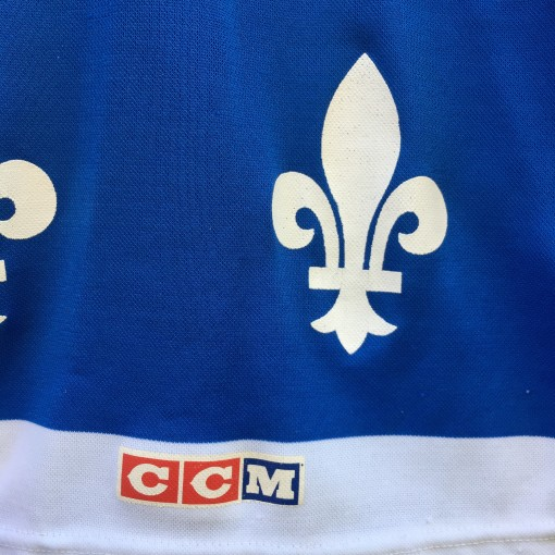 80's Quebec Nordiques CCM NHL Hockey Jersey size XL