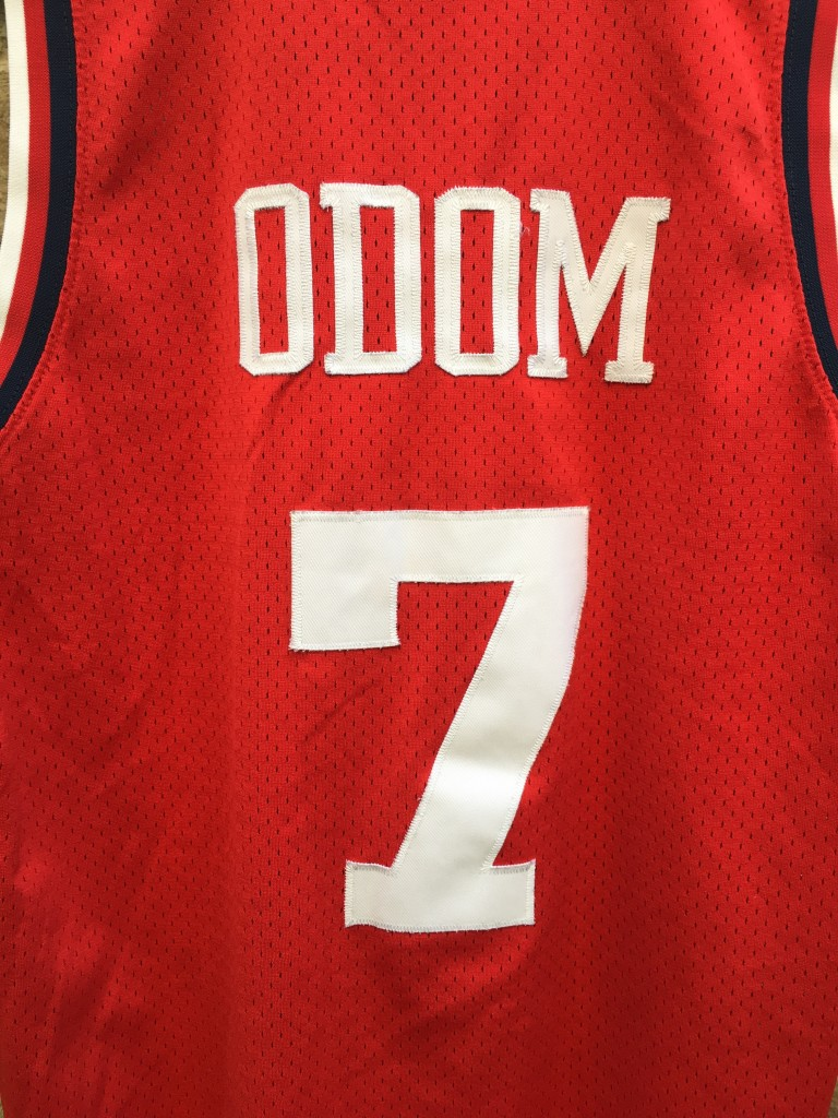 1983 Lamar Odom Nike rewind NBA swingman jersey los angeles clippers size  medium b4765ff30