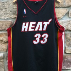 vintage Alonzo Mourning Miami Heat Nike swingman NBA jersey size XL