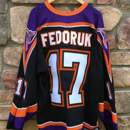 2004-05 Todd Fedoruk Philadelphia Phantoms AHL hockey jersey size xl flyers