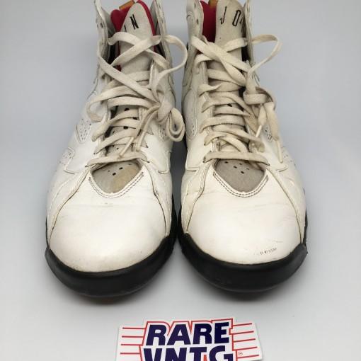 Original OG 1992 Nike Air Jordan VII 7 Sneakers Cardinal Size 14