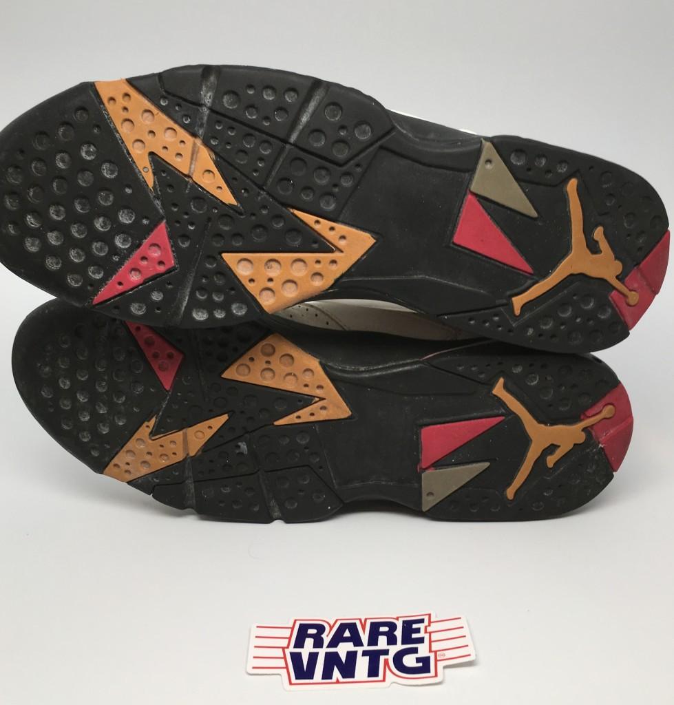 6a2d43e267e OG 1992 Nike Air Jordan VII 7 Cardinal Sneakers Size 14 | Rare Vntg