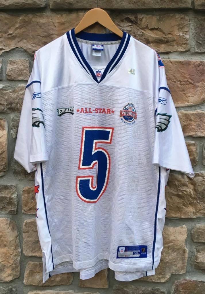 info for 3e88f 8c560 2005 Donovan McNabb NFC Pro Bowl Eagles Reebok NFL Jersey Size XL
