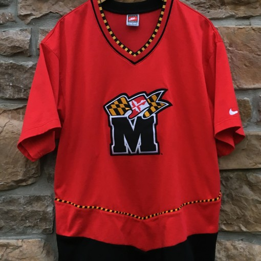 90's Maryland Terrapins Nike authentic shooting shirt size medium