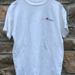 80's Champion T shirt white size X Large