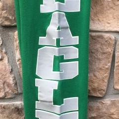 90's Philadelphia Eagles Logo 7 Kelly green sweatpants size small