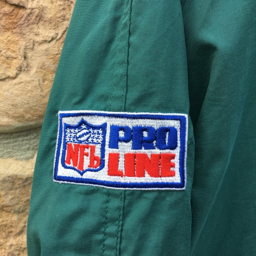 90's Philadelphia Eagles Starter prol line authentic windbreaker jacket size medium
