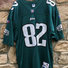 1996 Philadelphia Eagles Chris Jones authentic pro line russell nfl jersey size 48